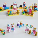 Kitty cat sets minifigures Lego Compatible Toy birthday present