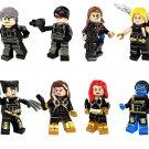 X-Men Mutant minifigures Lego Compatible Toy Superhero sets