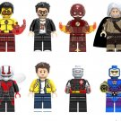 Superhero sets hush Wally West Mongul minifigures Lego Compatible Toy