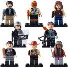 The Walking Dead Rick Morgan Jones minifigures Lego Compatible Toy