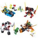 Phantom Ninja Armour Chariot Minifigures Lego Compatible Toy,Ninjago sets