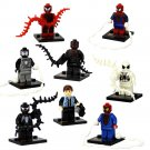 Spider-Man Peter Parker Venom minifigures Superhero Lego Compatible Toy