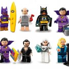 Batgirl Black Canary GeneralZod minifigures  Superhero sets Lego Compatible Toy