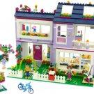 Friends sets Emma's House Lego Compatible toys