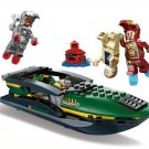 Super Heroes Iron Man Extremis Sea Port Battle Lego Compatible toys