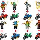 Ninjago Ninja Spinjitzu Soldier Bike Motorcycle Minifigure Lego Compatible Toy