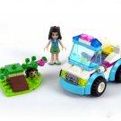 Friends Vet Ambulance for Lego Minifigures sets Compatible toys