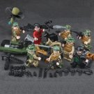 Chinese special forces minifigures Soldier sets Lego Compatible toys