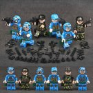 United States Marine Corps minifigures Military sets Lego Compatible Toy