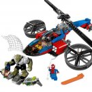 Superheroes 76016 Spider-Helicopter Rescue Lego Compatible Toy
