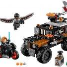 Super Heroes Crossbones' Hazard Heist Lego Compatible Toy