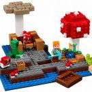 The Mushroom Island Lego Minecraft Compatible Toy