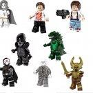 Movie series Alien Godzilla Thor minifigures Lego Compatible Toys