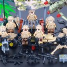 Black Hawk Down American Soldier Minifigures Lego Compatible Toys