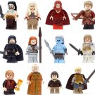 12 Pcs Game of Thrones A Song of Ice and Fire minifigures Lego Compatible Toys