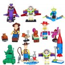 Buzz Lightyear Woody Emperor minifigures Lego Toy Story sets Compatible Toys