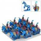 Rome army war Blue3 minifigure Medieval Knights set Lego Compatible Toys (10pcs)