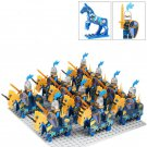 Medieval Knights Movies Sets Rome army minifigure Lego 6105 Compatible toys