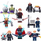 Marvel Avengers: Infinity War 2018 Sets Iron Man Thor minifigures Lego Compatible Toys
