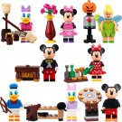 Mickey Minnie Donald Tinker Bell minifigure Lego Cartoon sets Compatible toys