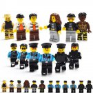 City Police Station Police Thief minifigures Lego 60141 Compatible Toys