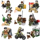 SWAT minifigures War Chaser Military sets Lego Compatible Toys