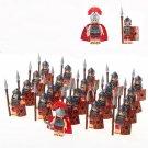 Medieval Knight centurion Soldiers minifigures Lego Kingdoms Joust Compatible Toys