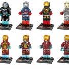 Iron Man Minifigures 2018 Avengers sets Lego Compatible Toy
