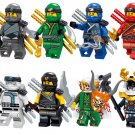 2018 Ninja Suit Zane Jay Kai Cole Minifigures Lego Ninjago Compatible Toys