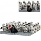 Kylo Ren Imperial Stormtroopers minifigures Lego Star Wars sets Compatible Toys