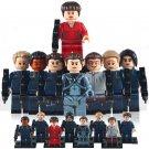 Star Trek Enterprise crew minifigures Lego Compatible Toys