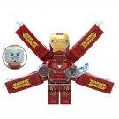 Avengers 3 Iron Man Minifigures Great War Thanos Lego Compatible Toys