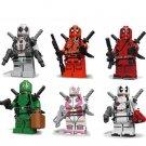 Deadpool 2 minifigures Lego Marvel movie sets Compatible Toy