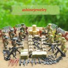 WW2 American German Soliders North Africa landing Lego Military Compatible Toys