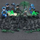 US The Third Air Force Military minifigures Lego Compatible Toys