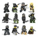 USA SWAT Soldiers minifigures Lego Military series Compatible Toy