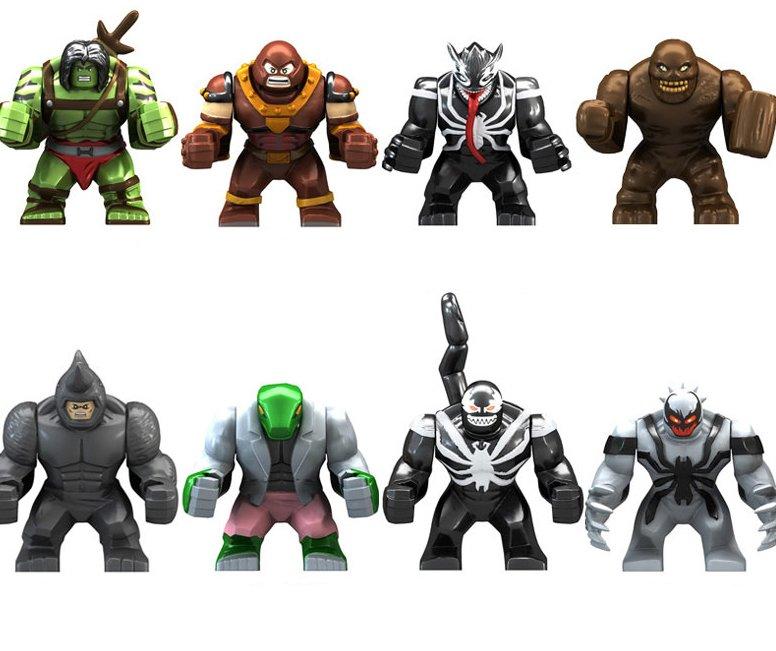 Marvel Super Heroes Antagonist set minifigures Compatible Lego Toys