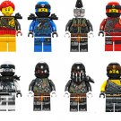 New Phantom Ninja Characters and Minifigures Lego Compatible Toy