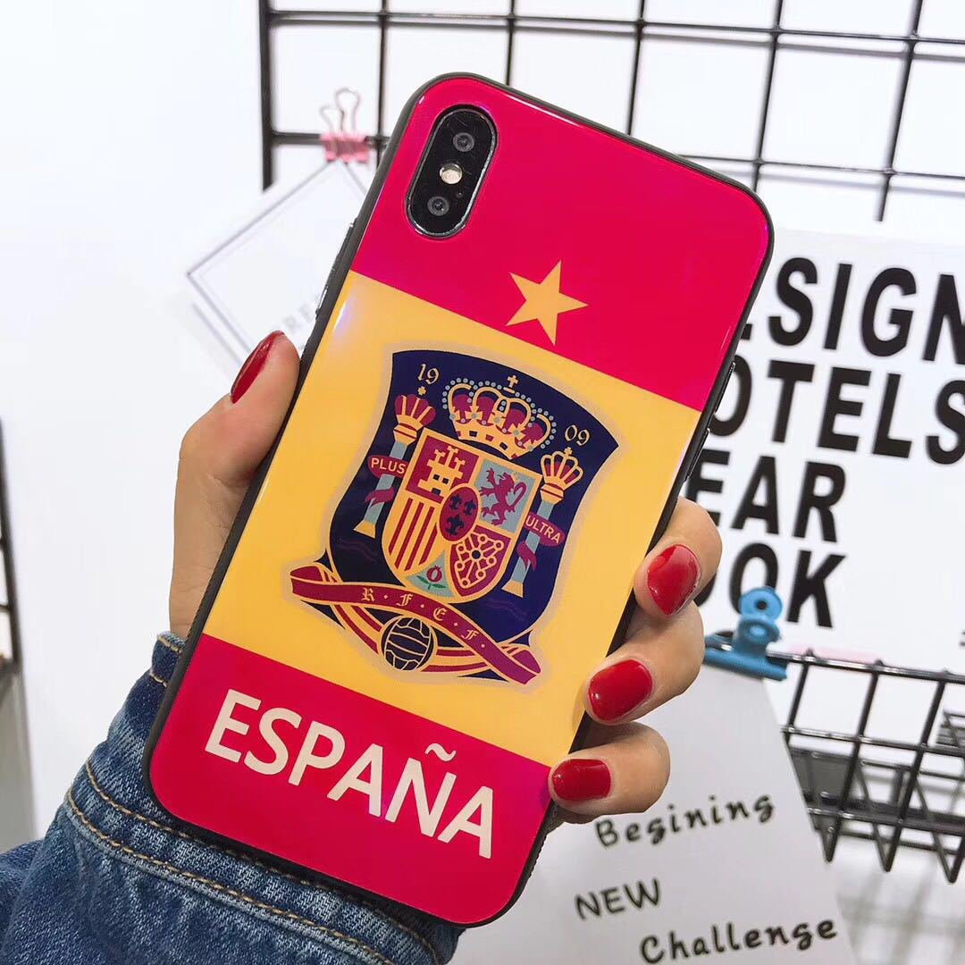 2018 World Cup iPhone 8 Plus Cases Spain national football team iPhone 8 Plus Case