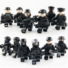 America SWAT Team minifigures Counter-Strike Lego Military set Compatible Toys