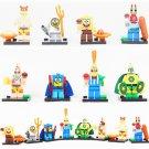 SpongeBob Minifigures Comic sets Lego Minifigures Compatible Toys