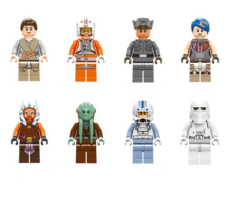 2018 Star Wars Story Series Minifigures Lego Compatible Toys