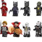 Avengers 4 Super Heroes Characters Minifigures Lego Compatible Toy
