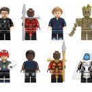 Ayo Pepper Groot Minifigures Avengers 4 Super Heroes Lego Minifigures Compatible Toy