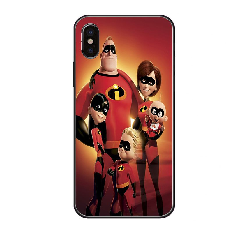 Comic Movie iPhone 8 Cases, The Incredibles 2 iPhone 8 Case