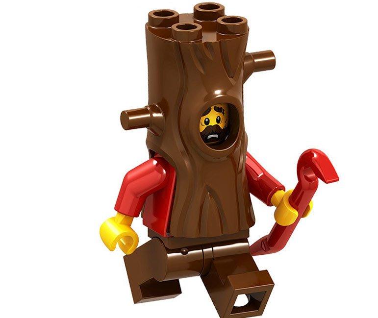 Crook Minifigures Mountain Police Headquarters Lego City Sets