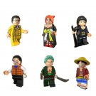 One Piece Minifigures Monkey D. Luffy Nico Robin  Lego Comic set Compatible Toy