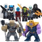 Thanos Nebula Gamora Corvus Glaive minifigures Marvel Super Heroes Lego Compatible