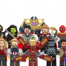Thanos General Outrider Spider Man Avengers Super Heroes Minifigure Lego Compatible Toys