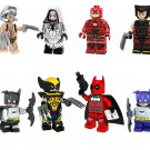 Wolverine Gwendolyn Maxine Stacy Flash Super Heroes Minifigures Lego Building Compatible Toy